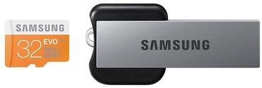 Samsung microSDHC Evo 32 GB Class 10 + USB Adapter