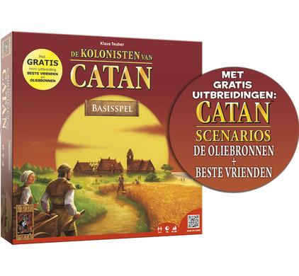 De Kolonisten van Catan Basis + Oliebronnen + Beste Vrienden