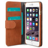 Melkco Leather Wallet Apple iPhone 6 Plus/6s Plus Bruin