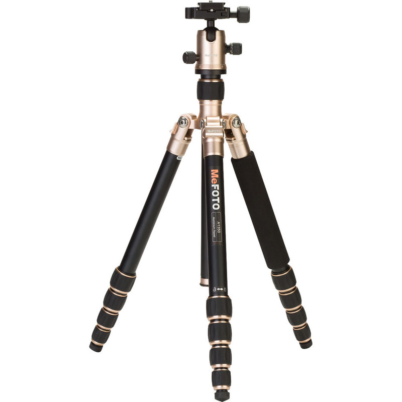 Mefoto Roadtrip Travel Tripod Kit Champagne