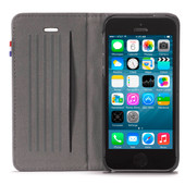Decoded Surface Wallet Apple iPhone 5/5S/SE Black