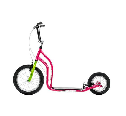 Yedoo New City Magenta-Green Scooter