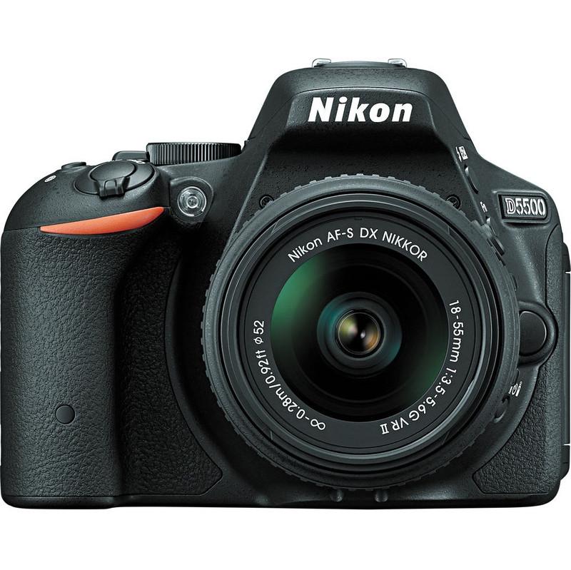 Nikon D5500 Zwart + 18-55mm F/3.5-5.6g Vr Ii