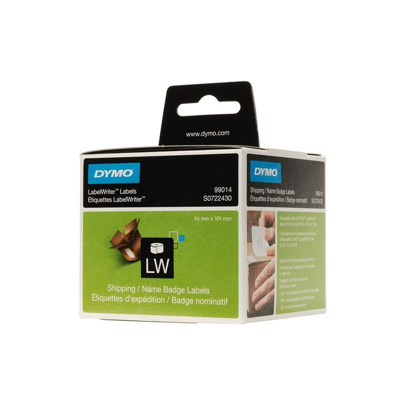 Dymo Naamlabels Wit (54 X 101 Mm) 1 Rol