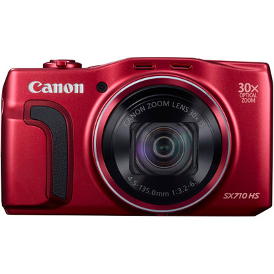 Image of Canon Foto Camera PowerShot SX710 HS 20.3 Megapixel, WiFi (rood)