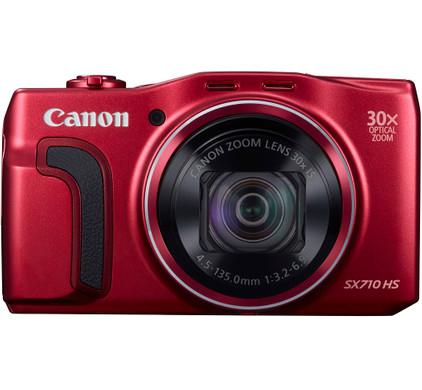 Canon PowerShot SX710 HS rood
