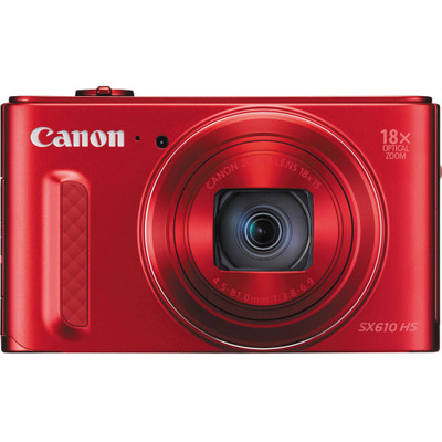 Image of Canon Powershot SX 610 HS Digitale Camera - Rood