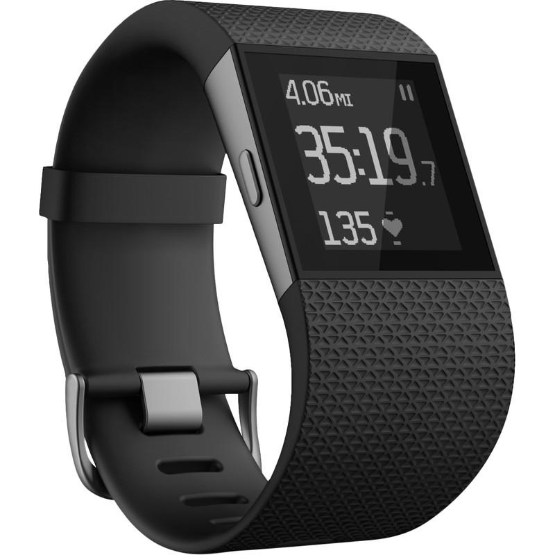 Fitbit Surge Black - L