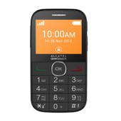 Alcatel One Touch 20.04C senioren telefoon zwart
