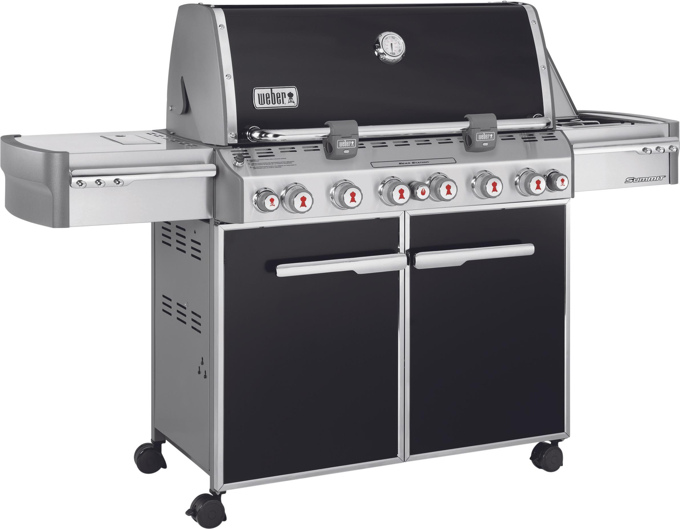 Barbecues Weber Summit E-670 GBS Zwart