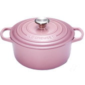Le Creuset Ronde Stoof-/Braadpan 24 cm Mauve Pink