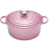 Le Creuset Ronde Stoof-/Braadpan 26 cm Mauve Pink