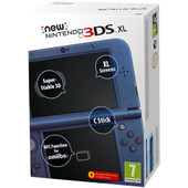 New Nintendo 3DS XL Blauw Metallic