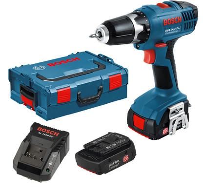 Bosch Blauw GSR 14,4-2-LI Professional in L-Boxx
