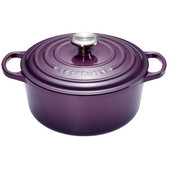 Le Creuset Ronde Stoof-/Braadpan 22 cm Cassis