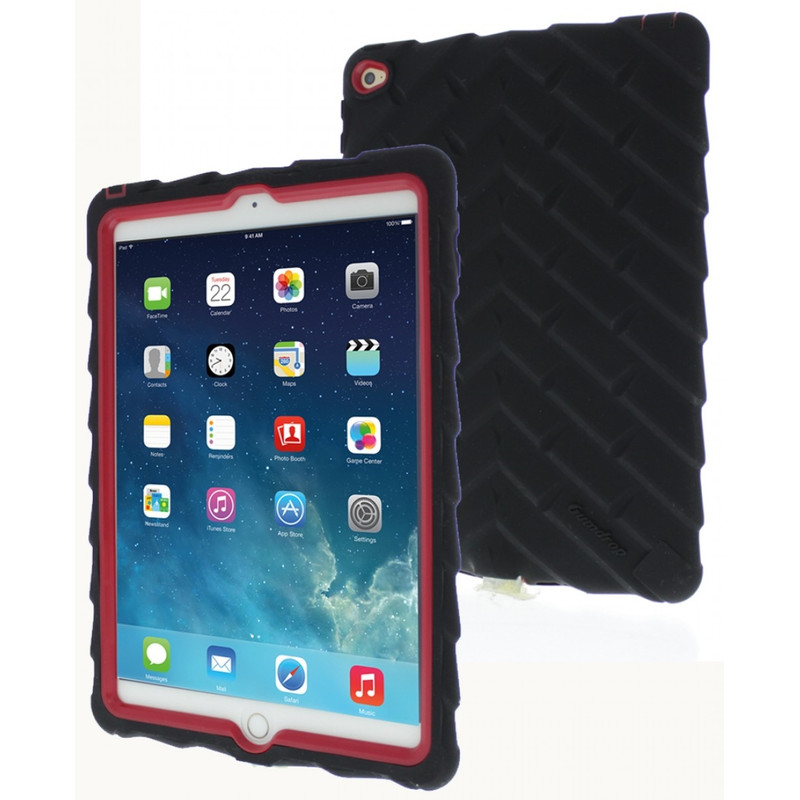 Gumdrop Droptech Apple Ipad Air 2 Zwart/rood