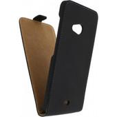 Mobilize Ultra Slim Flip Case Microsoft Lumia 535 Zwart