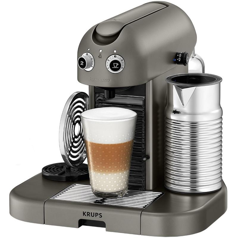 Krups Nespresso Gran Maestria Xn8105 Titanium