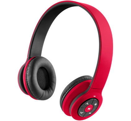 HMDX Jam Transit - On Ear koptelefoon - Rood