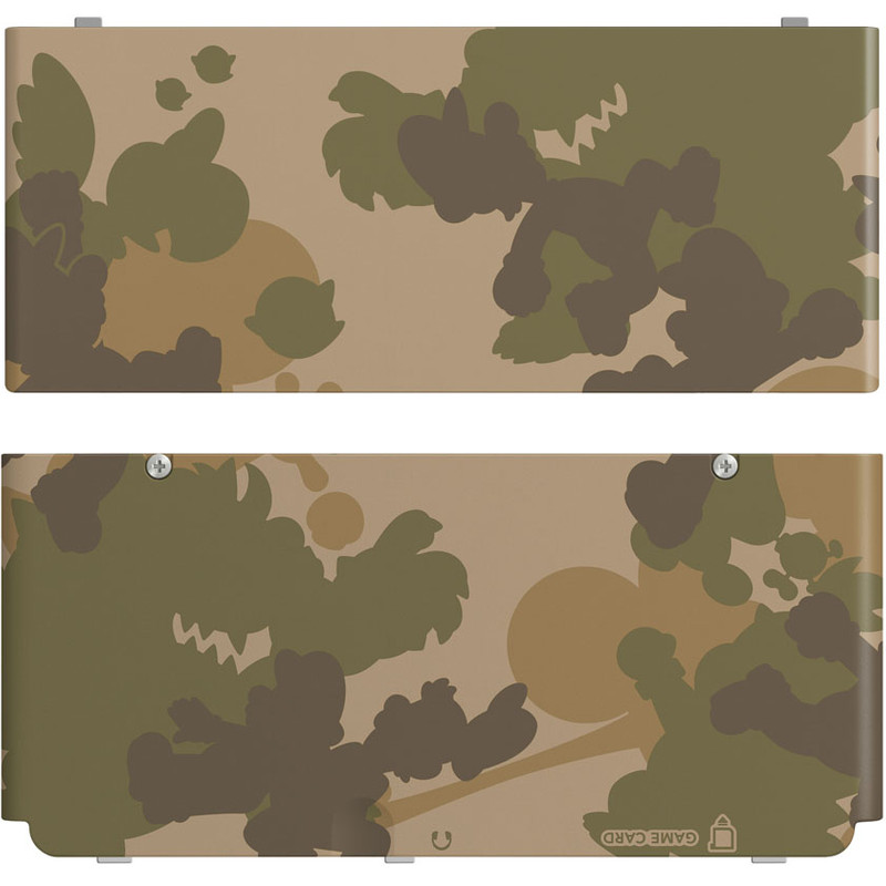 New Nintendo 3ds Cover Mario Camouflage