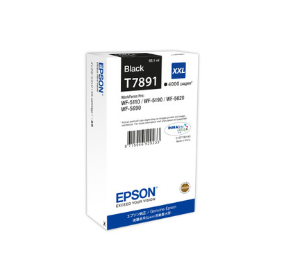 Epson T7891 XXL Cartridge Zwart C13T789140