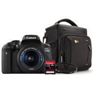 Canon EOS 750D + Geheugen + Tas + Lensfilter