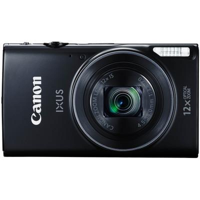Canon IXUS 275 HS Zwart - Compact camera, 20,2 MP, 12x zoom