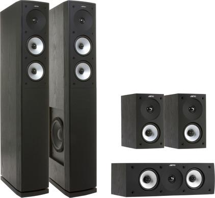 Jamo S626 HCS zwart (set)