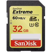 SanDisk SDHC Extreme 32GB Class 10