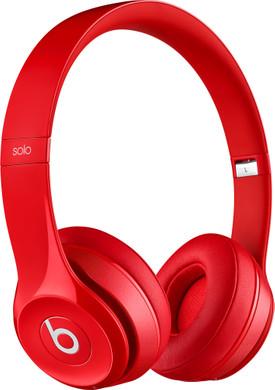 Beats Solo 2 Wireless Rood