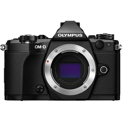 Image of Olympus E-M5 Mark II systeemcamera Body Zwart