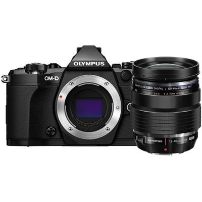 Image of Olympus E-M5 Mark II systeemcamera Zwart + 12-40mm Pro Kit