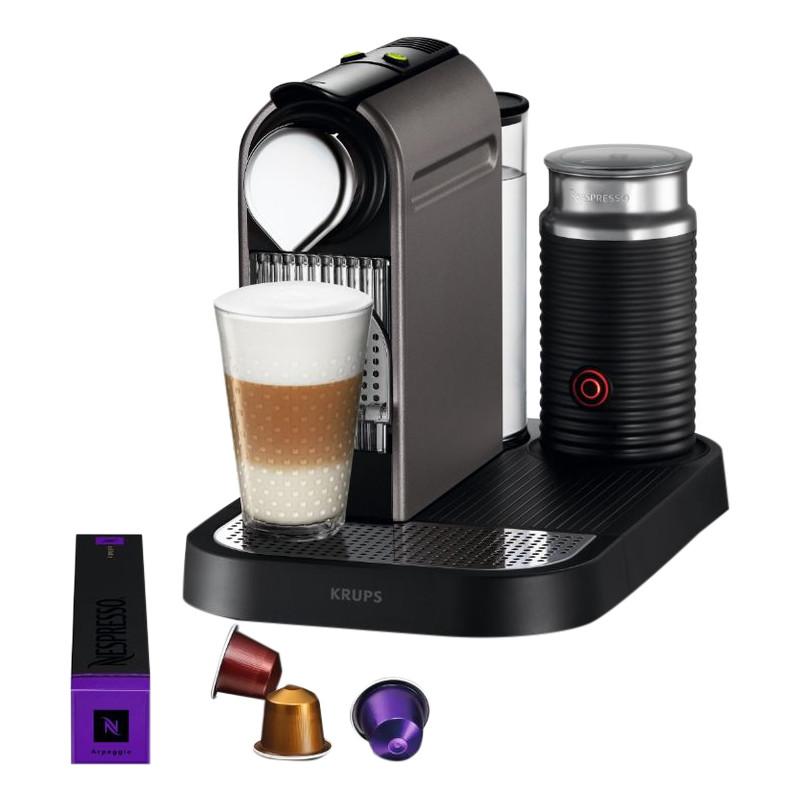 Krups Nespresso CitizandMilk Xn730t Titan