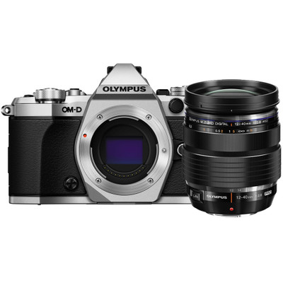 Image of Olympus E-M5 Mark II systeemcamera Zilver + 12-40mm Zwart Pro Kit