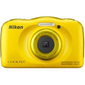 Nikon Coolpix S33 geel