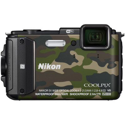 Image of Nikon Coolpix AW130 camouflage