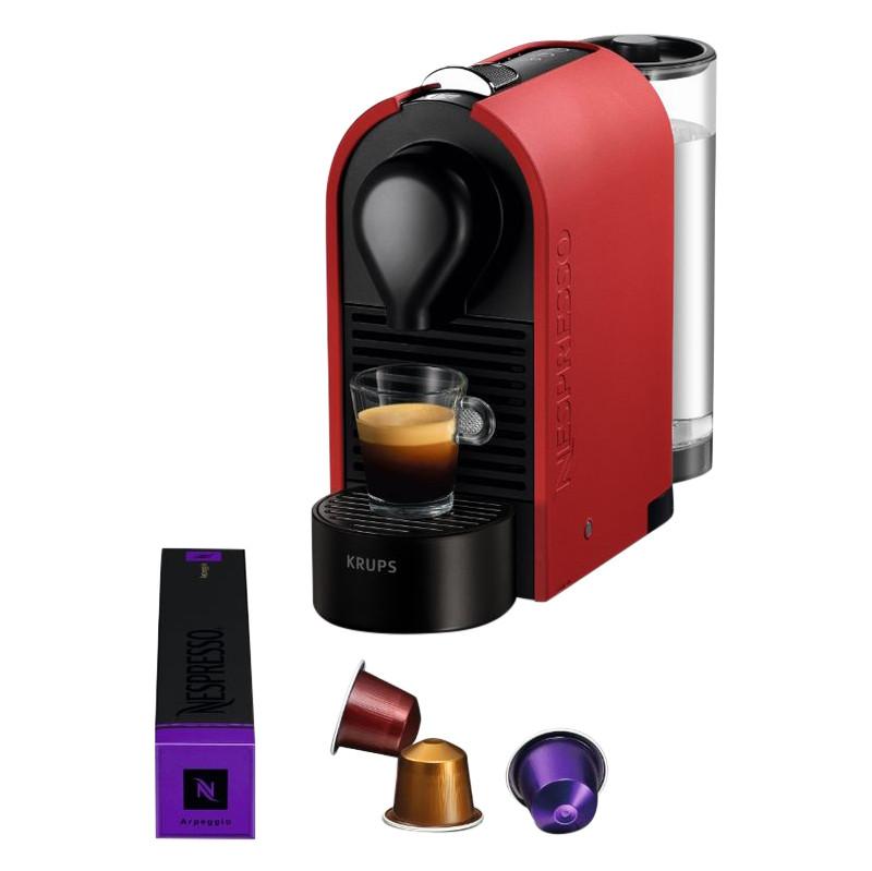 Krups Nespresso U Xn2505 Mat Rood