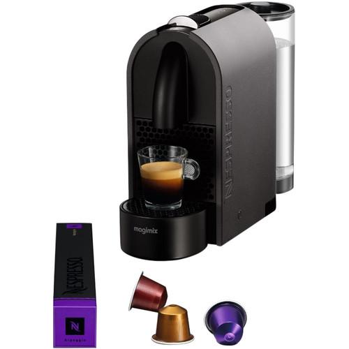 Magimix Nespresso U Mat Dark Grey