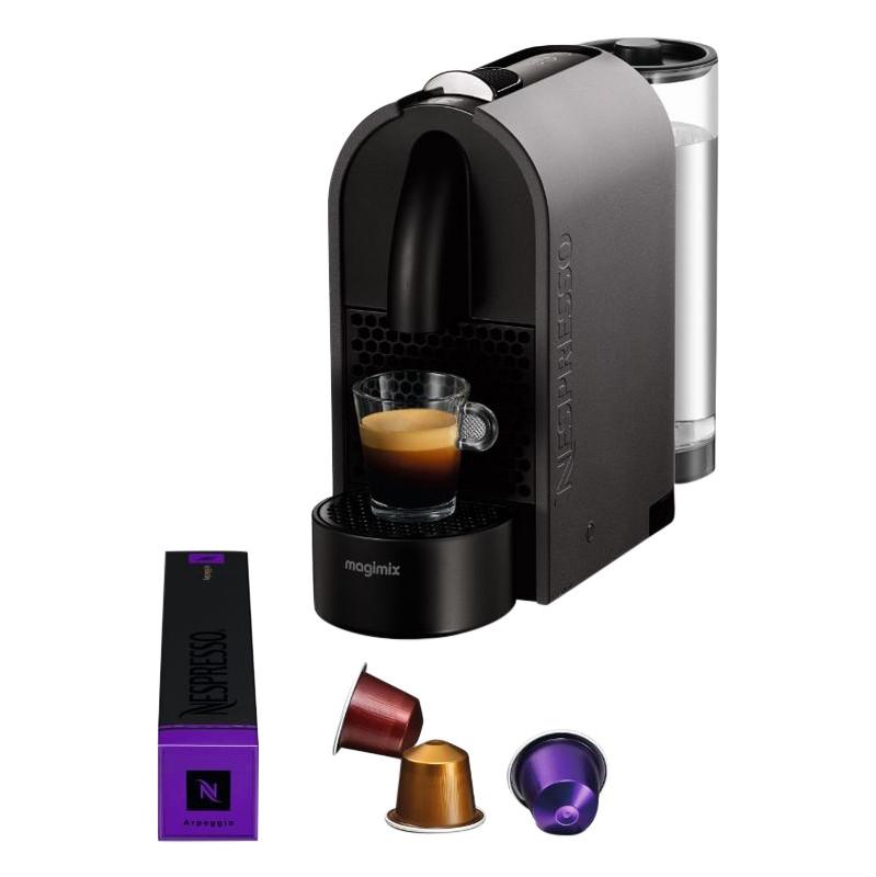 Magimix Nespresso U M130u Mat Dark Grey