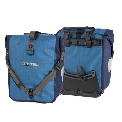 Ortlieb Front-Roller Plus Blauw (paar)