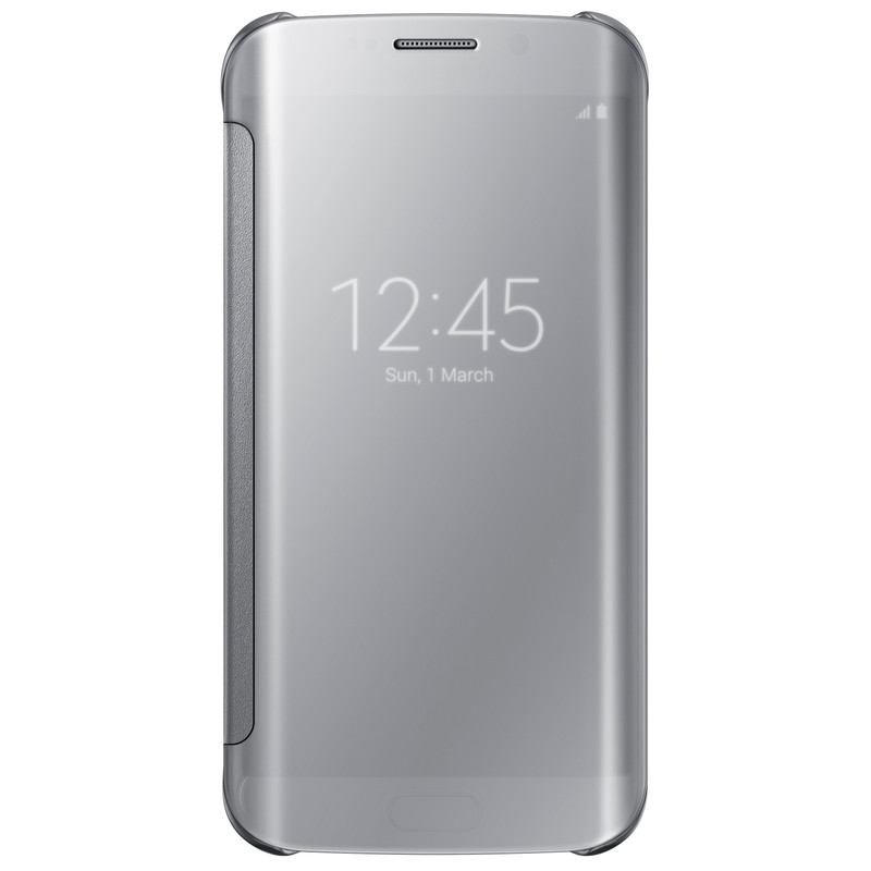 Samsung Galaxy S6 edge Clear View Cover Zilver