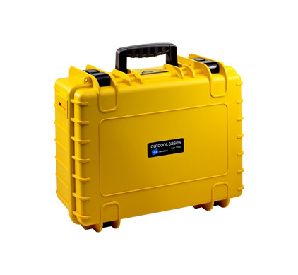 B&W International Type 5000 geel incl. schuimstof
