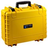 B&W type 5000 geel met plukschuim