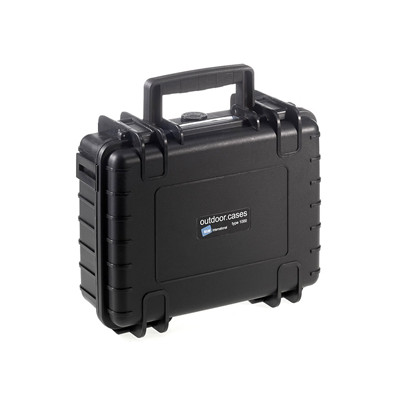 Image of B & W International Veiligheidskoffer type 1000 1000/B/SI Afm.: (b x h x d) 272 x 106 x 215 mm Polypropyleen