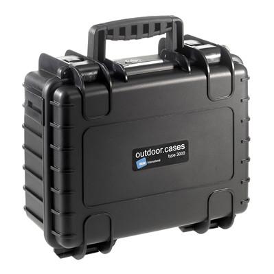 Image of B & W International Veiligheidskoffer type 3000 3000/B/SI Afm.: (b x h x d) 364 x 169 x 295 mm Polypropyleen