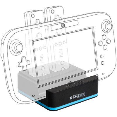Image of Bigben Oplaadstation Wii U