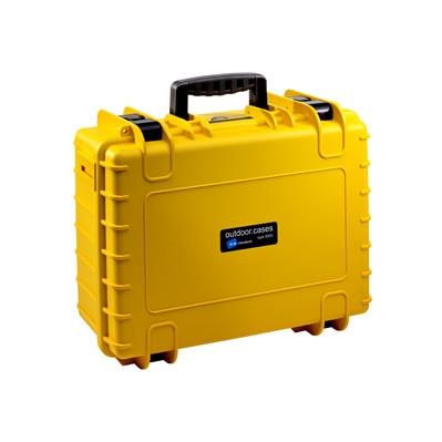 B&W International Type 500 geel incl. schuimstof