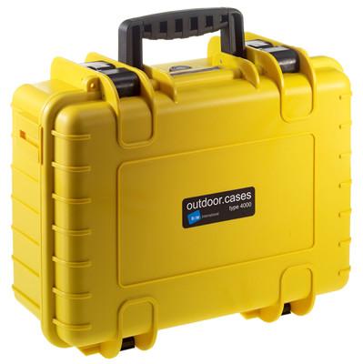 Image of B&W International Type 4000 geel incl. schuimstof