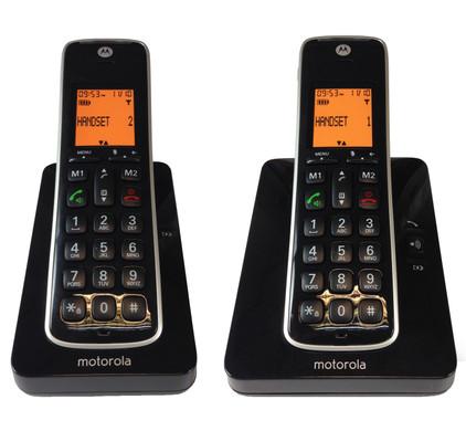 Motorola CD202 Duo Zwart