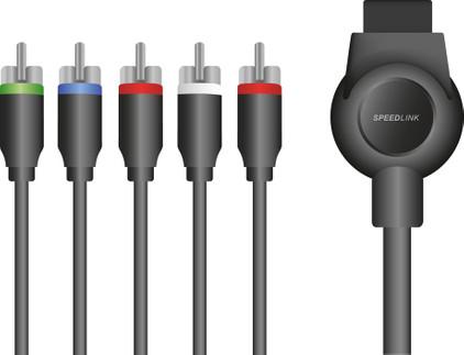 Speedlink MAX-3 Componentkabel PS3